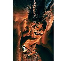 Spooky Slot Canyon Photographic Print