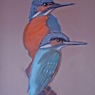 kingfishers by Catherine Brock
