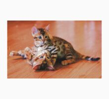Bengal Kittens at Play Kids Clothes