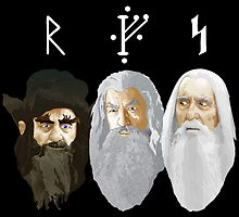 The Hobbit - The Wizards by Chris Singley