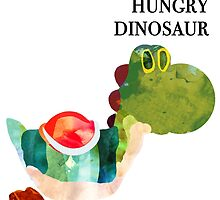 The Very Hungry Dinosaur (Text) by CBigDesigns