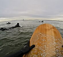 Surfer's Point of View by coastalbrandon