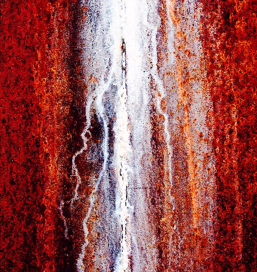 Rusty Wall by Ulf Buschmann
