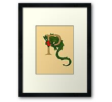 """Oscar and the Roses """"P"""" (Illustrated Alphabet) Framed Print"""