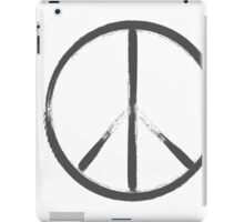 painted peace sign iPad Case/Skin