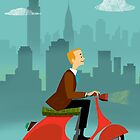 Scooter Boy by Edward Crosby