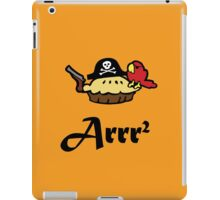 Pie Arrr Squared iPad Case/Skin
