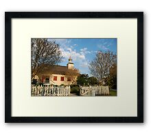 La Chapelle des Attakapas Framed Print