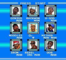 Mega Wu-Tang Clan - Mega Man + Wu-Tang Mash-up by 57MEDIA