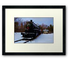 Yuletide Express_2 Framed Print