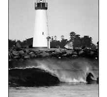 Santa Cruz Harbor Lighthouse by Nick Borelli