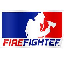 Professional Firefighting League Poster