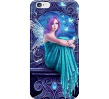 Astraea Fairy with Butterflies iPhone Case/Skin