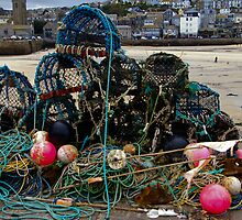 Nets and pots by Steve plowman