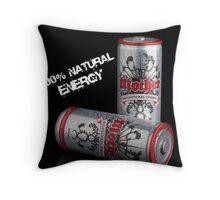 100% Natural (mock promo) Throw Pillow