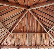Traditional classical pergola arbor by Ron Zmiri