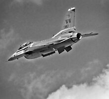 F-16 Fighting Falcon by Nathan T