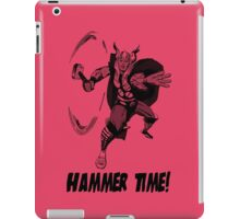 The Mighty Thor - Hammer Time! iPad Case/Skin