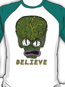 Believe Alien T-Shirt