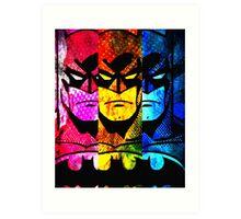 Batman pop art Art Print