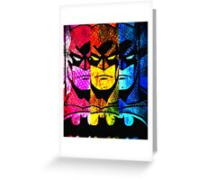 Batman pop art Greeting Card