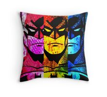 Batman pop art Throw Pillow