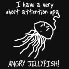 Mid-size ANGRY JELLYFISH!  by Chris Richards