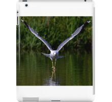 Seagull walks on water iPad Case/Skin