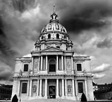 Les Invalides, Paris by Christophe Testi