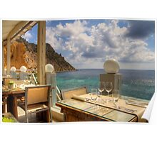 Dining in Paradise Poster