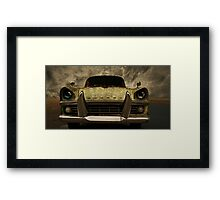 Auto Evolution : Future Chaos Framed Print