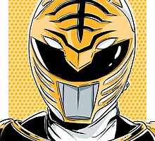 MMPR - White Ranger by averagejoeart