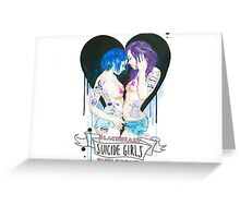 Suicide Girls: Blackheart Burlesque Tour Greeting Card