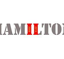 Lewis Hamilton - Double Formula 1 World Champion by TJFezza97