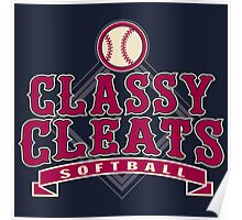 Classy Cleats Poster