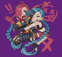 Cute Vi & Jinx - League of Legends by marcoluigi92