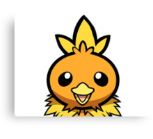 Torchic Canvas Print