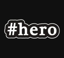Hero - Hashtag - Black & White Kids Clothes