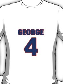 Basketball player Jack George jersey 4 T-Shirt