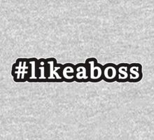 Like A Boss - Hashtag - Black & White Kids Clothes