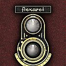 Retro brass TLR camera phone cases by Steve Crompton