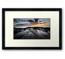lever de soleil (v) Framed Print