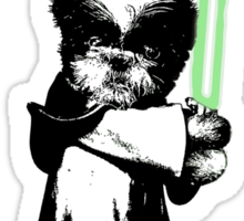 May the Force Be Shih Tzu Sticker
