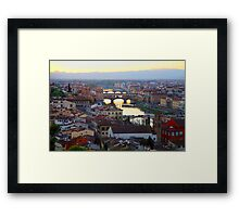 All About Italy. Piece 16 - Florence Framed Print