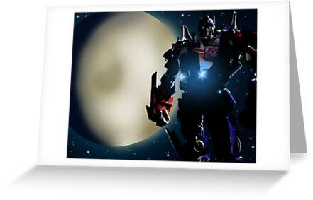 Transformers (Optimus Prime) by DAP1987