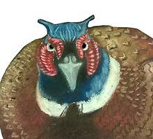 bird by jakieart