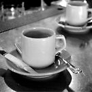 BLACK & white coffee by Michele Roohani