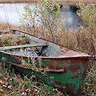 A Peeling Boat by Maria Dryfhout