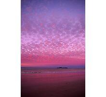 Fairy Floss Sunset Photographic Print