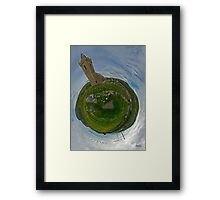 Glencolmcille Church - Sky Out Framed Print
